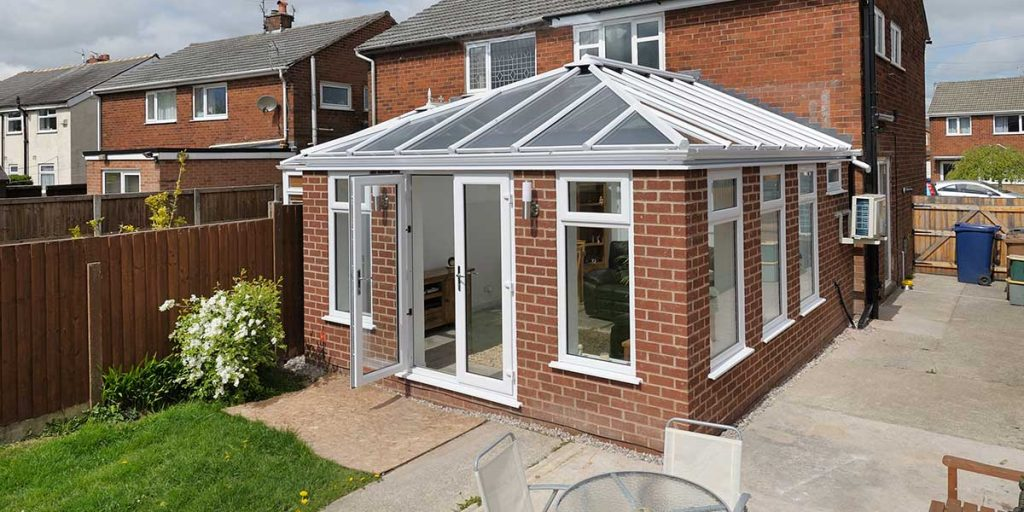 Modern Orangery With French Doors